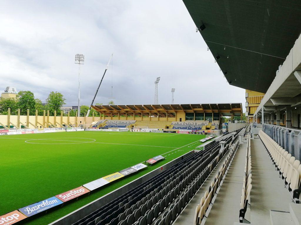 Studenterna åt In3ab Och Sportfastigheter Uppsalakommun